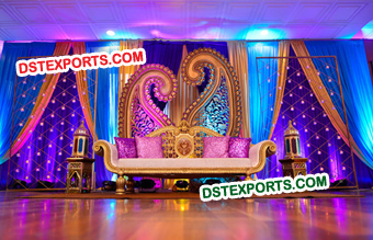 Muslim Nikah Reception Stage Decors