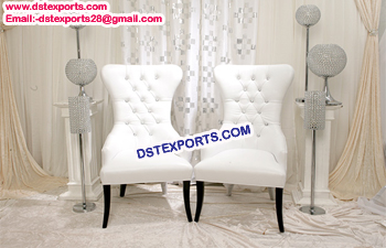 Modern Look Wedding Leather Chair