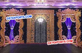 Reception Stage Backdrops Frames