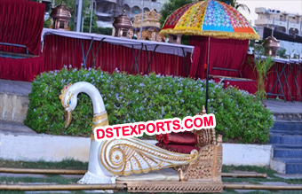 Wedding Wooden Swan Doli