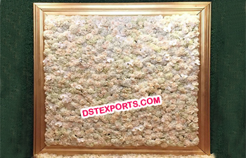 Flower Backdrop Wall for Wedding Stage Decoratio