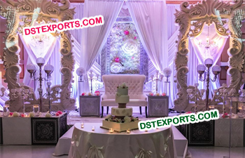 Latest Design Wedding Reception Stage