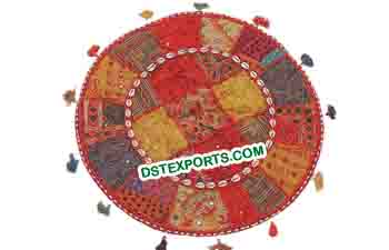 Rajasthani Cushion Round Pillow