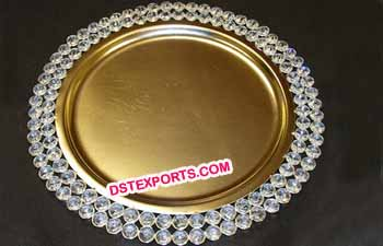 Metal Crystal Charger Plates