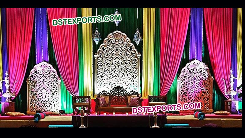 Indian Wedding Decoration Backdrop Panel