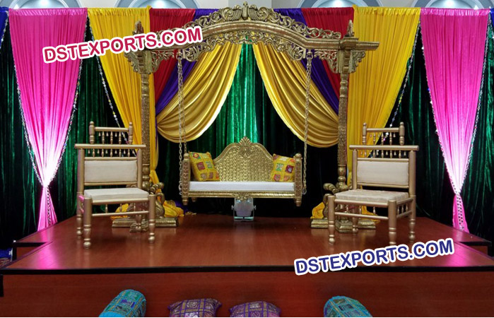 Wedding Beautiful Swing Stage