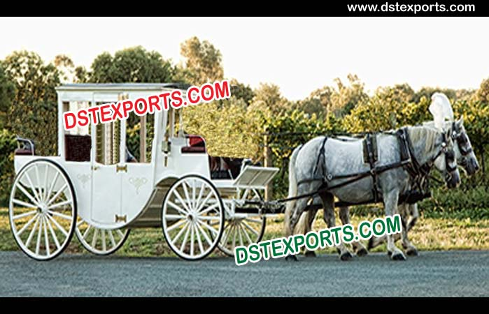 AC Fitted Horse Drawn Covered Carriage