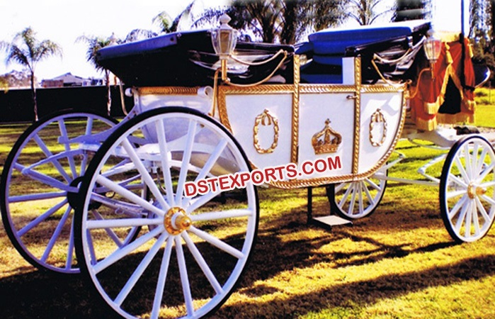 Princess Wedding Royal Horse Drawn Buggy