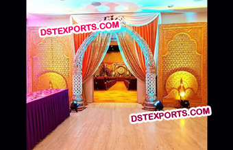 Indian Wedding Fiber Entrance Gate