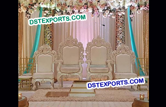 Indian Wedding Wooden Chairs
