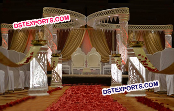 Modern New Butterfly Mandap