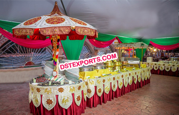 Wedding Food Stall Counters