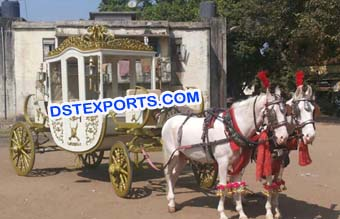 Box Type Royal Horse Buggy