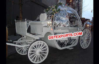 Heart Cinderella Horse Drawn Carriage