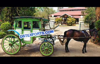 Box Type Horse Drawn Carriage