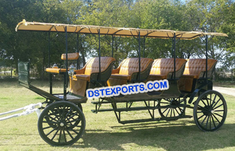 Four Seater Limousine Carriages