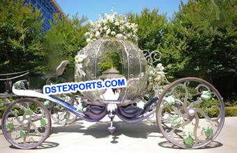 New Bridal Cinderella Buggy Carriage