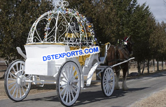 Cinderella Horse Carriage For Wedding
