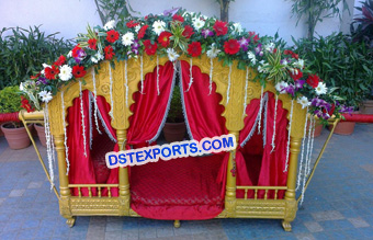 Bridal Doli With Decorated Flower
