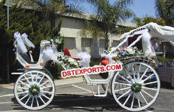 Elegant Vintage Horse Carriage
