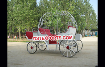 New Beautiful Small Cinderella Carriage