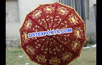 Beautiful Wedding Embrodried  Umbrella