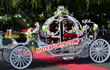 Cinderella Pumpkin Wedding Carriage