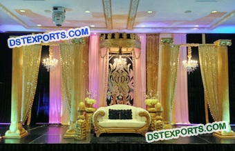 Traditional Asian Stage Decoration