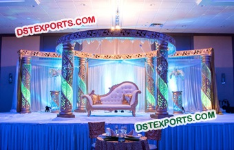 Best Event Crystal Mandap Set
