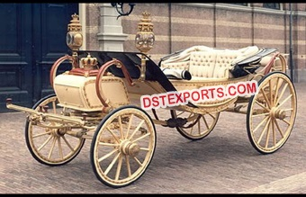Open Royal Horse Drawn Carriage Buggy