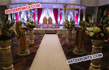 India Fiber Wedding Mandap