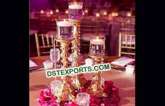 Wedding Brass Metal Candle Holder