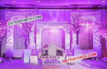Exquisite Wedding Stage Backdrop Frame