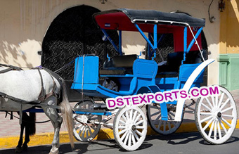 Two Seater  Carriage For Hotel Touring