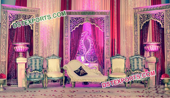 Indian Wedding Event Stage Panel