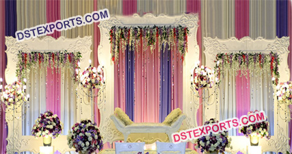 Fancy Wedding Backdrop Decoration