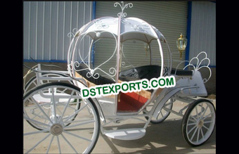 Pumpkin Style Cinderella Carriage Buggy
