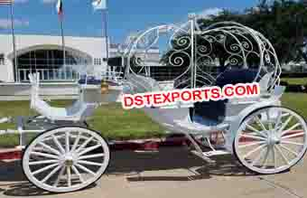 Bridal Cinderella Horse Drawn Carriage