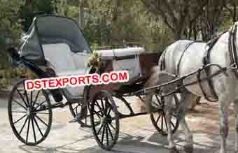 Royal Wedding Victoria Horse Carriage