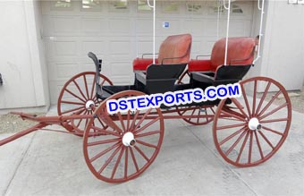 Open Two Seater Horse Carriages for Sale
