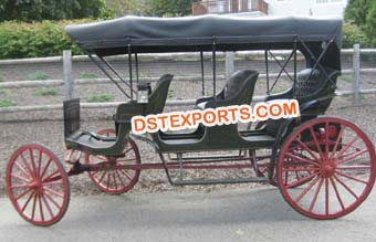 Three Seater Horse Drawn Carriages Buggy