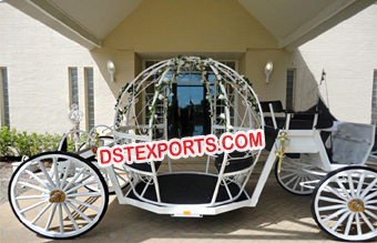 Designer Cinderella Horse Drawn Carriage