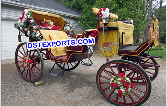 Royal Look Horse Drawn Carriage Buggy