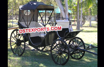 Black Royal Horse Carriage