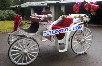 Royal Victoria Horse Carriage For Wedding