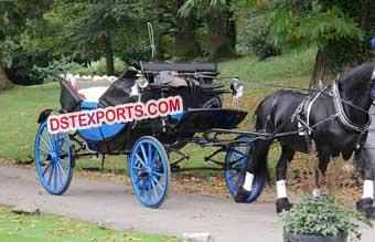 Presidential Horse Drawn Buggy Carriage