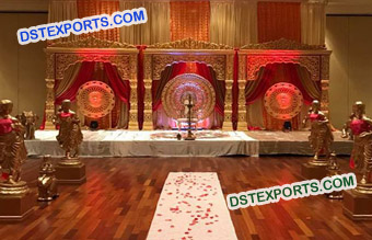 Jodha Akber Wedding Stage Set