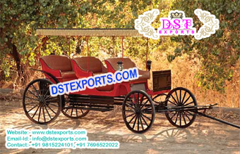 Beautiful Limousine Horse Carriage Buggy