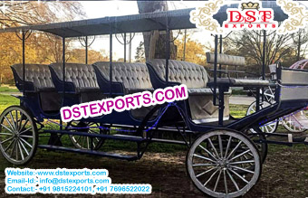 New Limousine Horse Carriage