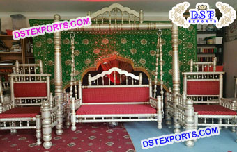 Muslim Wedding  Stage Swing Set